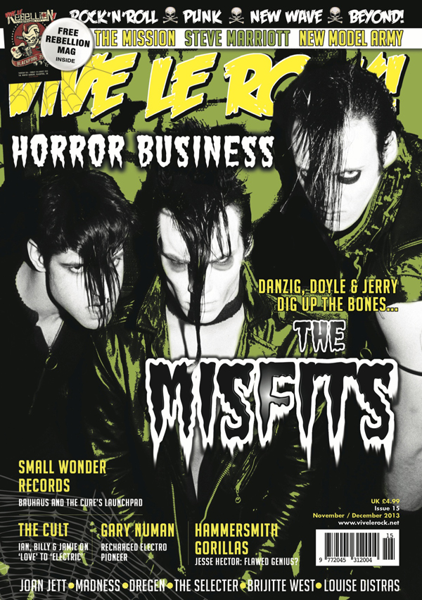 Vive Le Rock Issue 15 - MISFITS