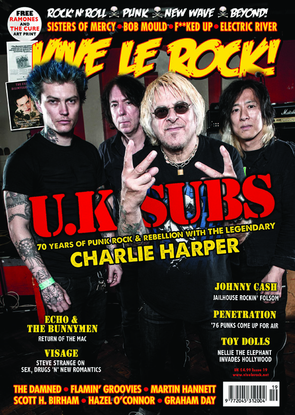 Vive Le Rock Issue 19 - UK SUBS