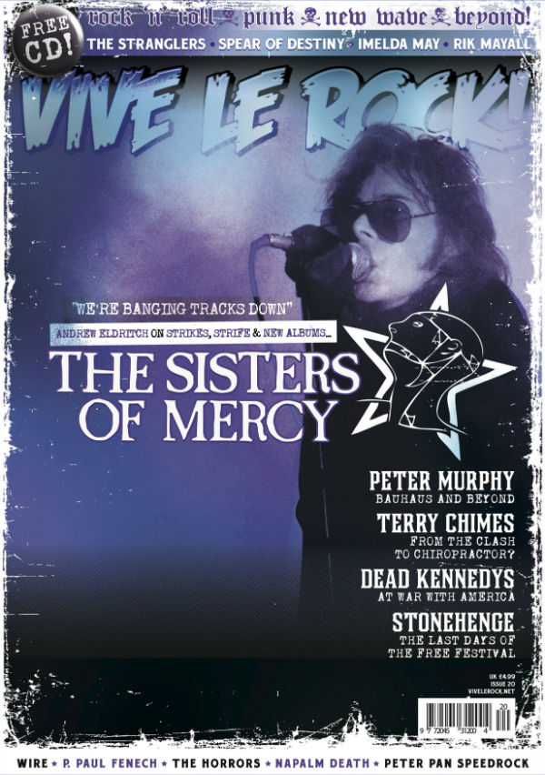 Vive Le Rock Issue 20 - SISTERS OF MERCY