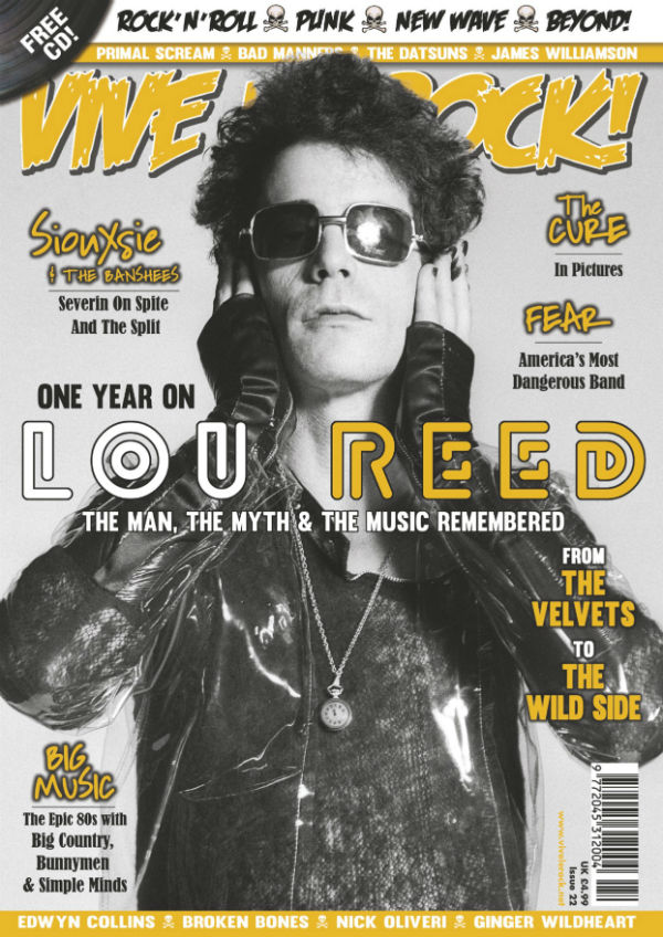 Vive le Rock Issue 22 Lou Reed
