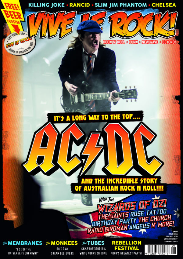 Vive Le Rock Issue 28 - AC/DC