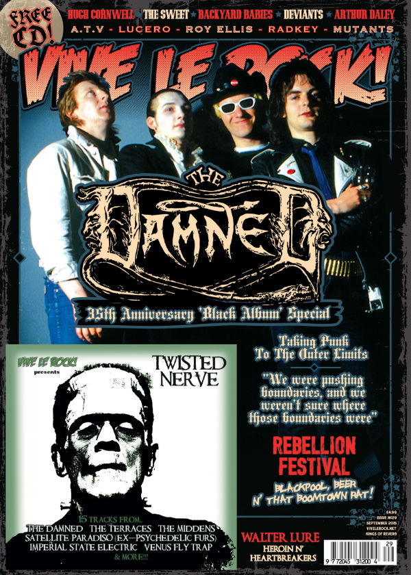 Vive Le Rock Issue 29 - The Damned