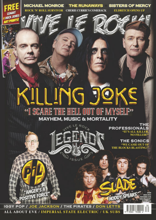 Vive Le Rock issue 30 - Legends issue!