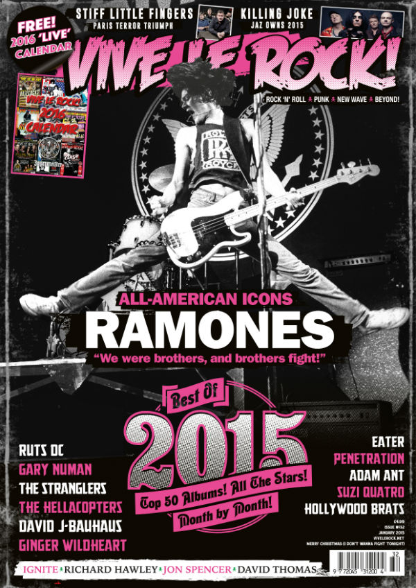Vive Le Rock Issue 32 - Ramones