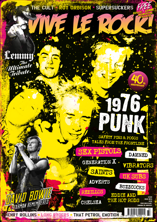 Vive Le Rock Issue 33 - 1976 Punk