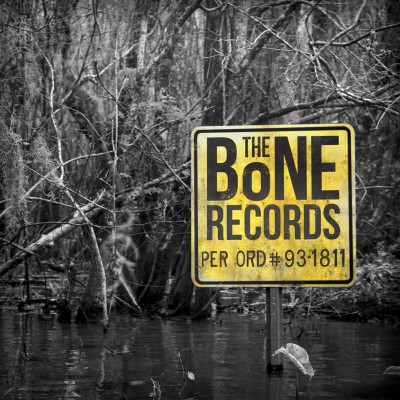 bone records sleeve