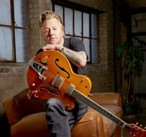 Brian Setzer, Minneapolis, February 22, 2011.  © Tony Nelson