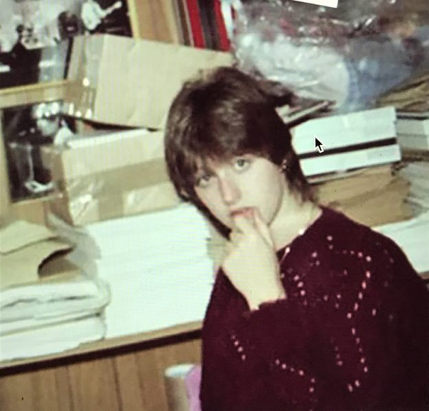 photos 1- Nicky Weller in 1977 at the family home in Stanley Road, Woking where she ran the Jam fan club.