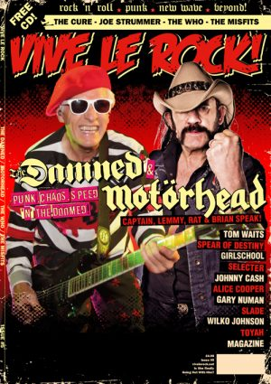Vive Le Rock Issue 5 - Damned and Motorhead