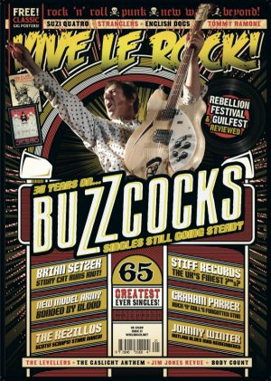 Vive Le Rock Issue 21 - Buzzcocks
